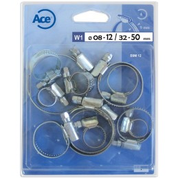 Assortiment 12 colliers...